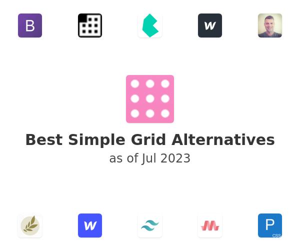 Best Simple Grid Alternatives