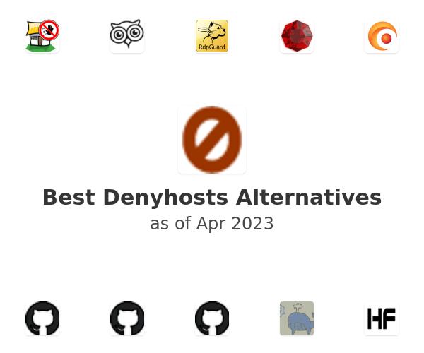Best Denyhosts Alternatives