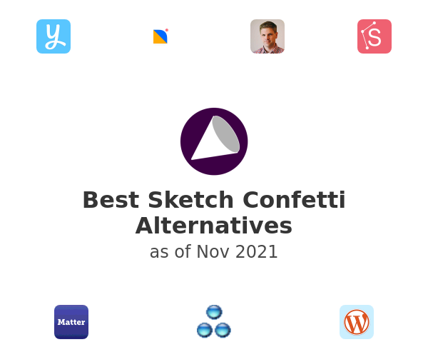 Best Sketch Confetti Alternatives