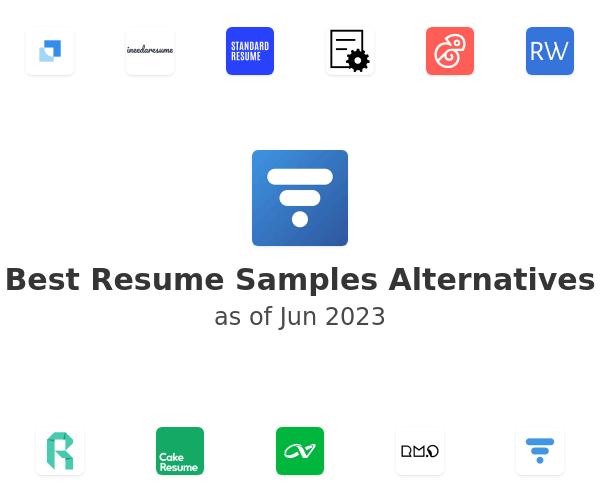 Best Resume Samples Alternatives