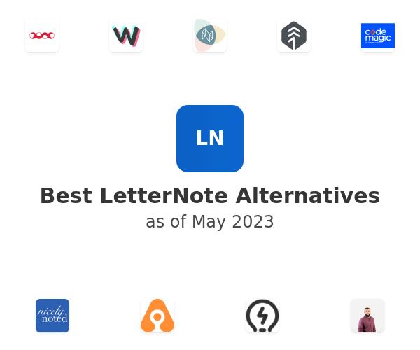 Best LetterNote Alternatives