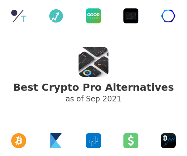 Best Crypto Pro Alternatives