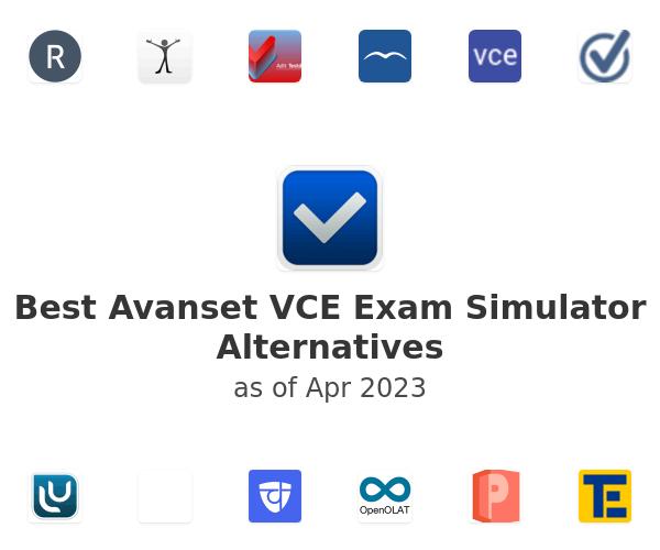 Best Avanset VCE Exam Simulator Alternatives