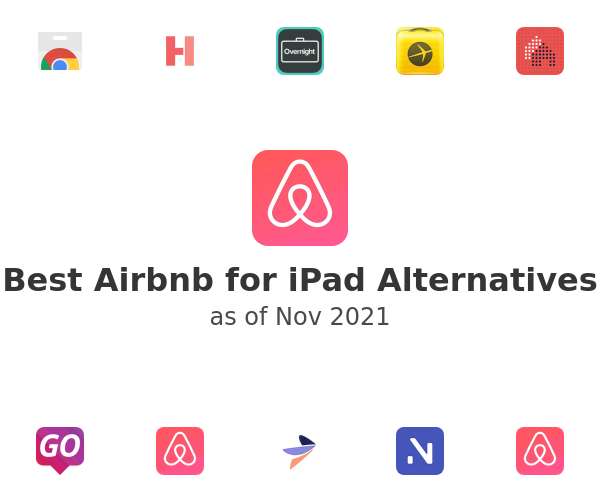 Best Airbnb for iPad Alternatives