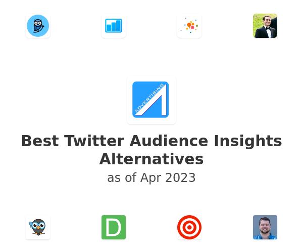 Best Twitter Audience Insights Alternatives