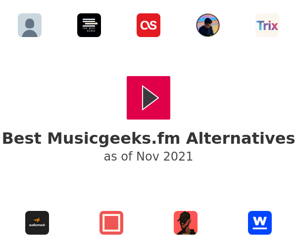 Best Musicgeeks Alternatives