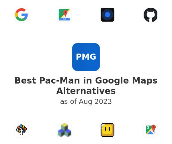 Best Pac-Man in Google Maps Alternatives