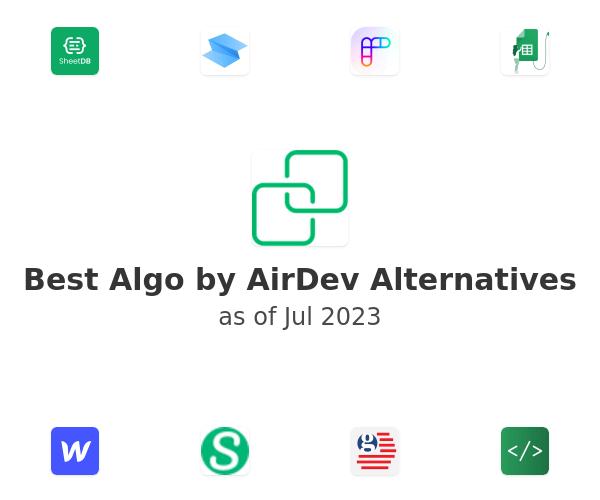 Best Algo by AirDev Alternatives