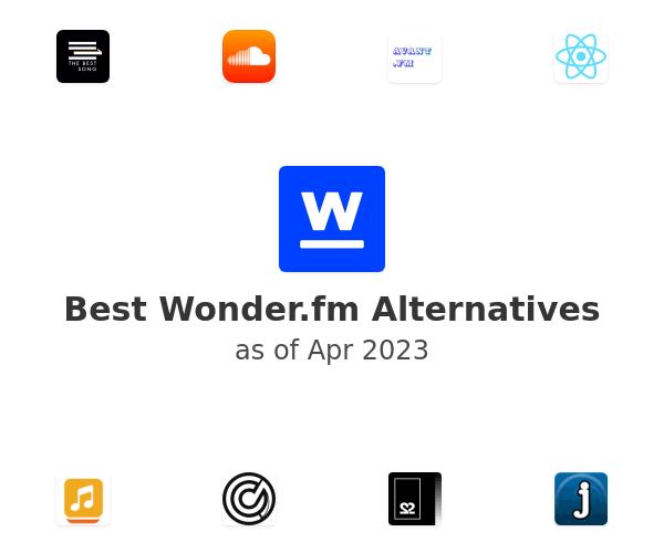 Best Wonder.fm Alternatives