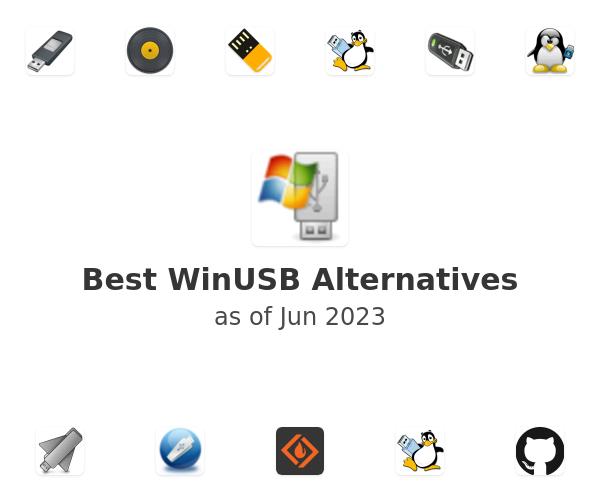Best WinUSB Alternatives