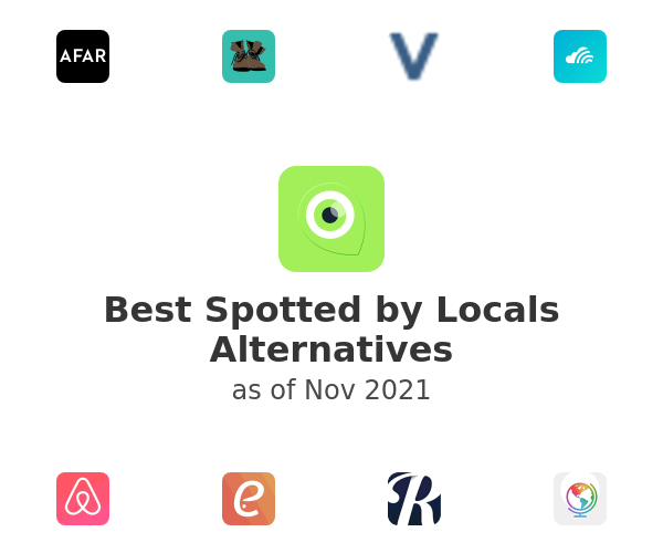 Best Spotted by Locals Alternatives