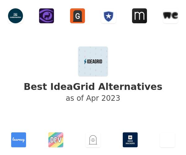 Best IdeaGrid Alternatives
