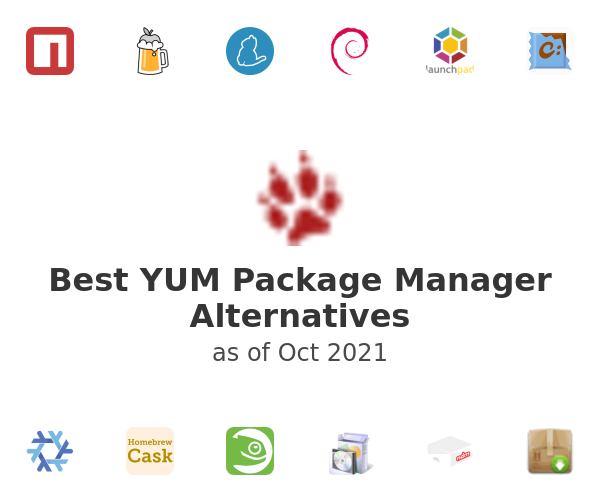 Best YUM Package Manager Alternatives