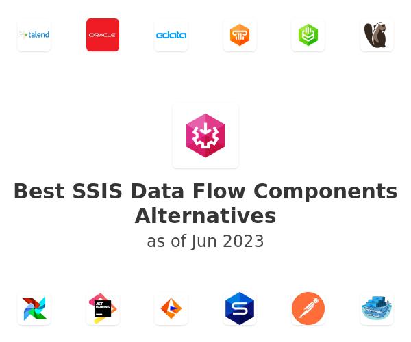 Best SSIS Data Flow Components Alternatives