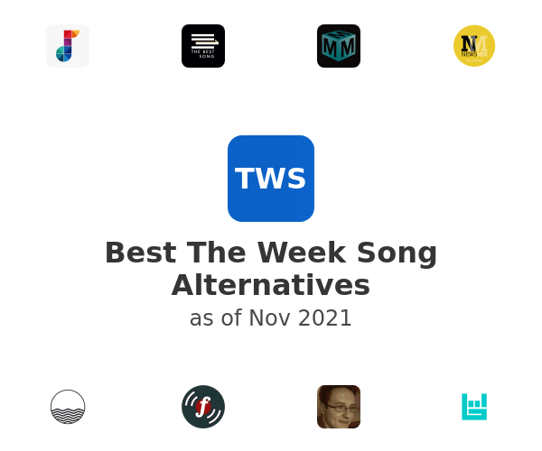 Best The Week Song Alternatives