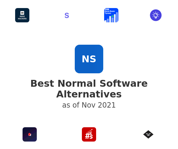 Best Normal Software Alternatives