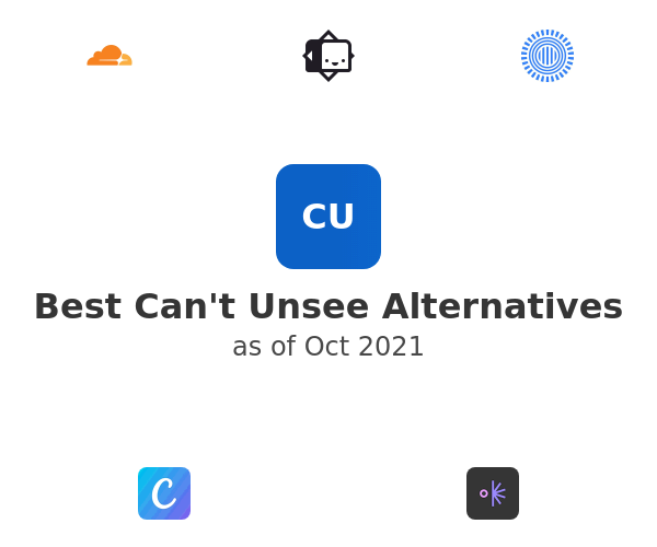 Best Can't Unsee Alternatives