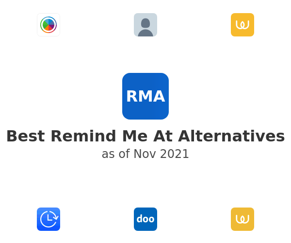 Best Remind Me At Alternatives