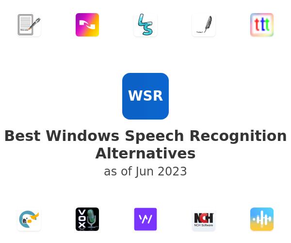 Best Windows Speech Recognition Alternatives