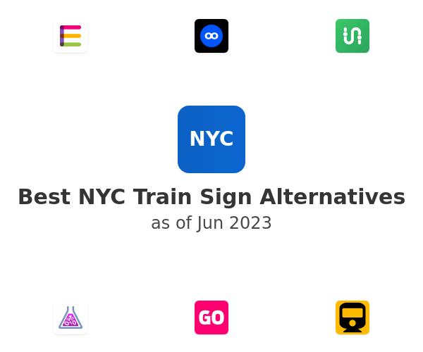 Best NYC Train Sign Alternatives