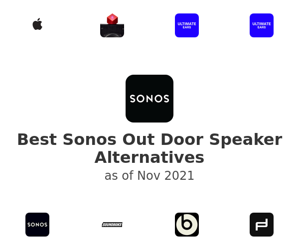 Best Sonos Out Door Speaker Alternatives