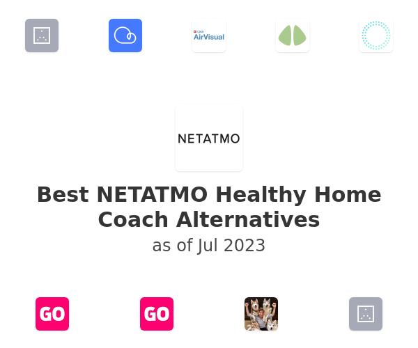 Best NETATMO Healthy Home Coach Alternatives