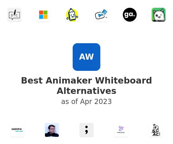 Best Animaker Whiteboard Alternatives