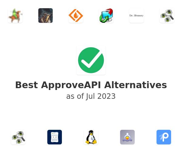 Best ApproveAPI Alternatives
