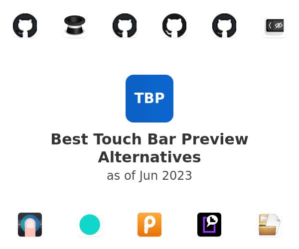 Best Touch Bar Preview Alternatives