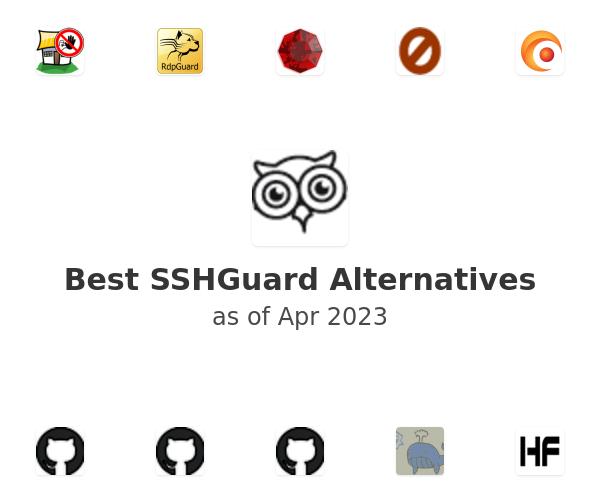 Best SSHGuard Alternatives