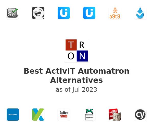 Best ActivIT Automatron Alternatives
