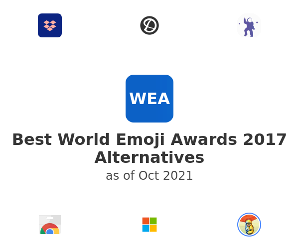 Best World Emoji Awards 2017 Alternatives