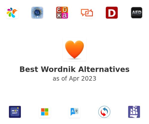 Best Wordnik Alternatives