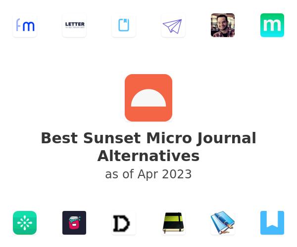 Best Sunset Micro Journal Alternatives