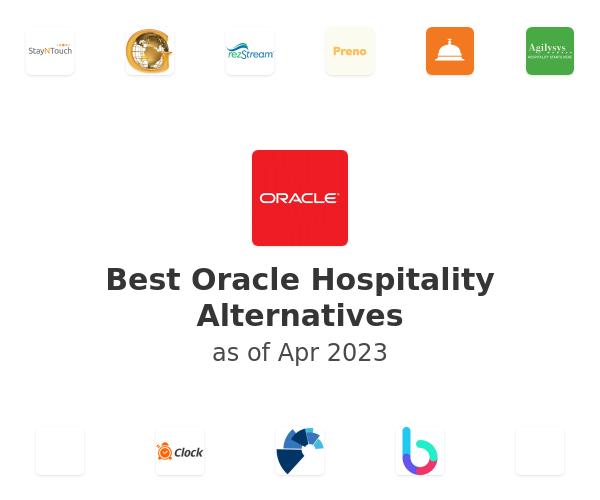 Best Oracle Hospitality Alternatives