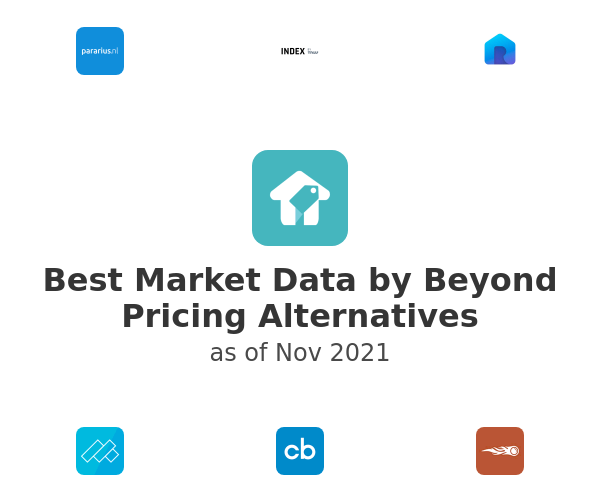Best Market Data by Beyond Pricing Alternatives