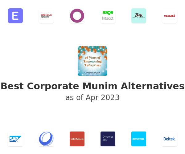 Best Corporate Munim Alternatives