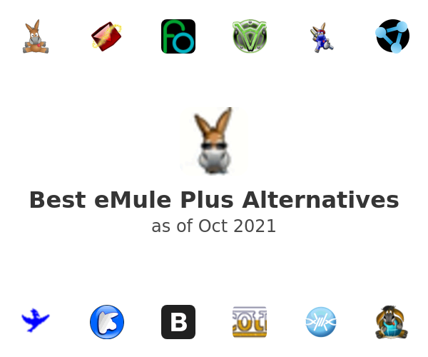 Best eMule Plus Alternatives