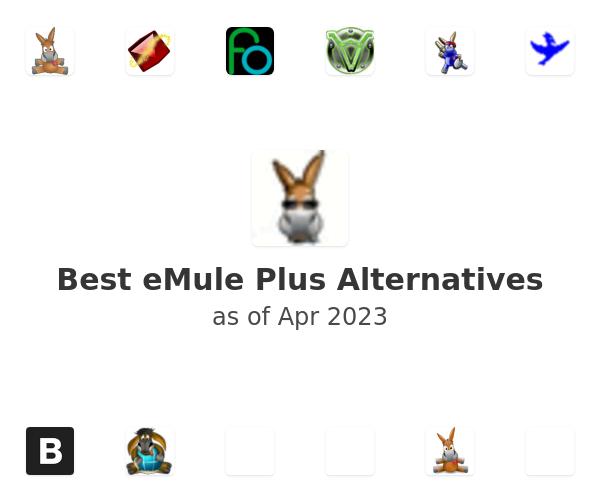 Best eMule Plus Alternatives