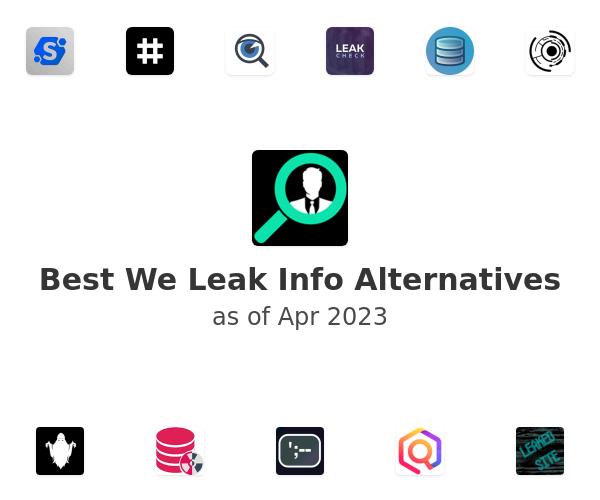Best We Leak Info Alternatives