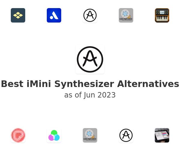Best iMini Synthesizer Alternatives