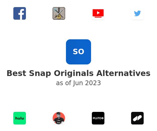 Best Snap Originals Alternatives