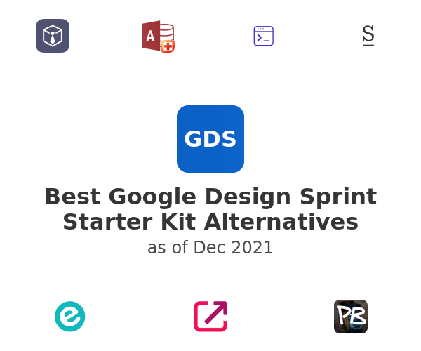 Best Google Design Sprint Starter Kit Alternatives