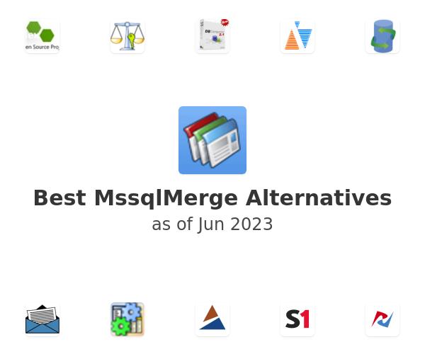Best MssqlMerge Alternatives