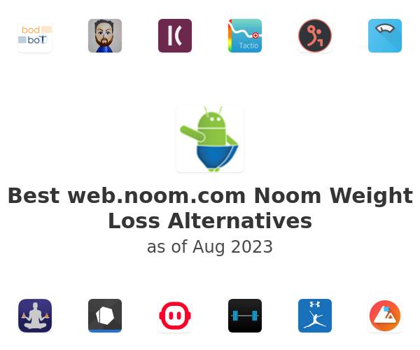 Best Noom Weight Loss Alternatives