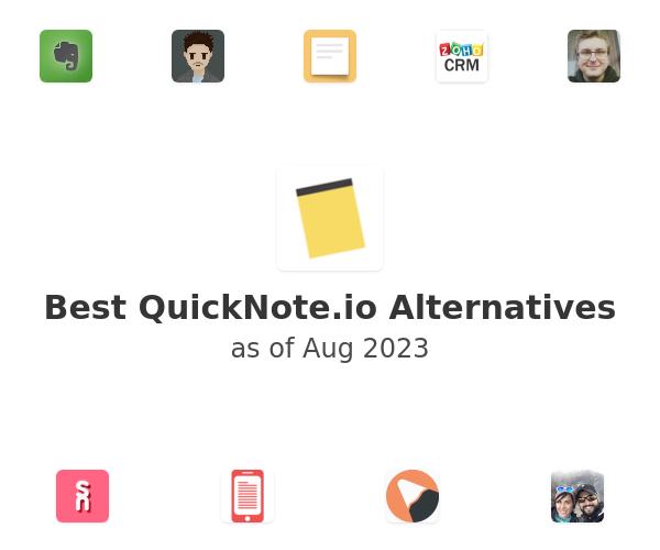 Best QuickNote.io Alternatives