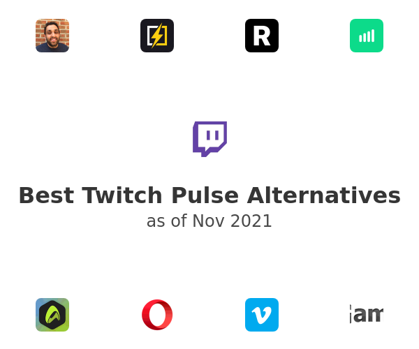 Best Twitch Pulse Alternatives
