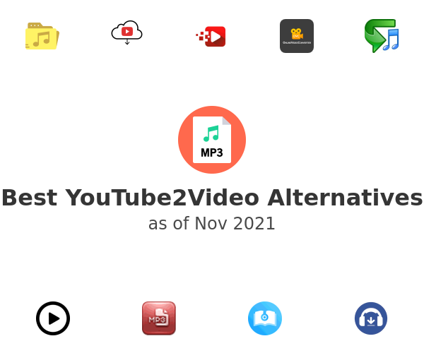 Best YouTube2Video Alternatives