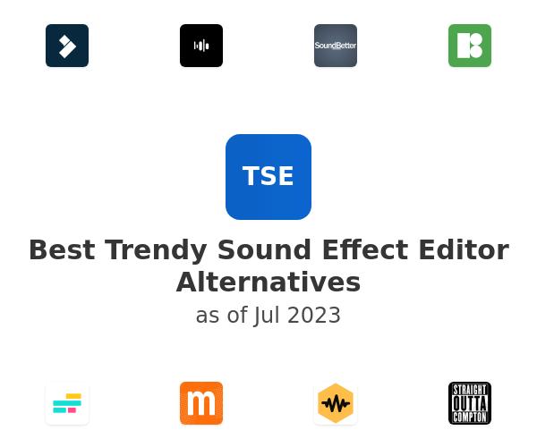 Best Trendy Sound Effect Editor Alternatives