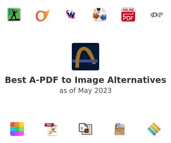Best A-PDF to Image Alternatives